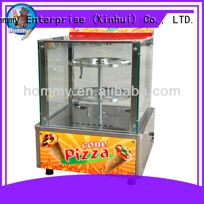 Hommy pizza cone maker machine famous brand for store