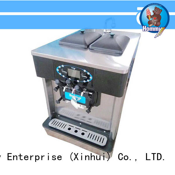 directly factory price professional ice cream machine automatic manufacturer for smoothie shops