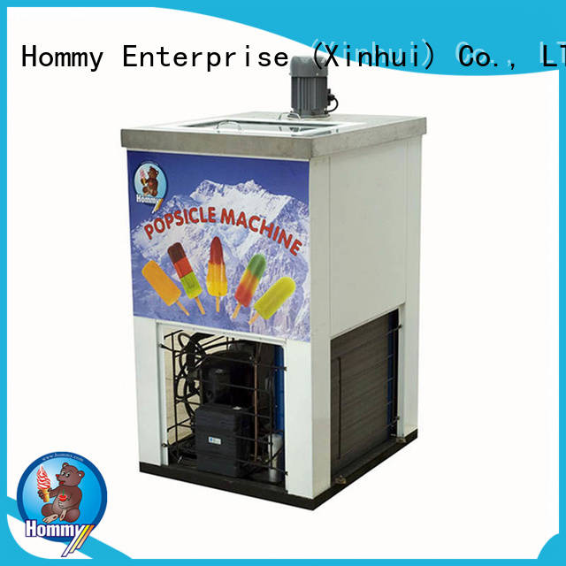Hommy high quality commercial popsicle machine supplier
