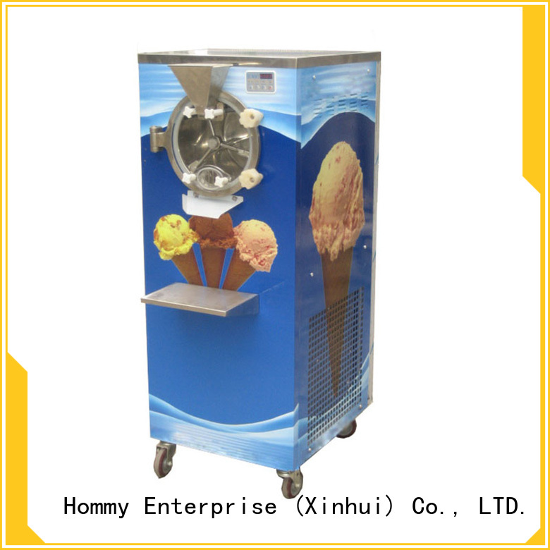 Hommy skillful technologists gelato ice cream machine for sale for bake shop