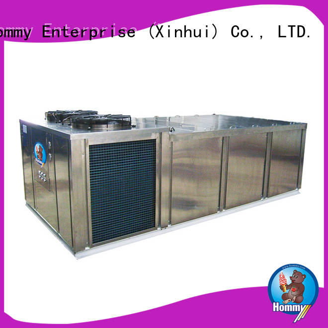 Hommy unique design block ice machine supplier for hotels