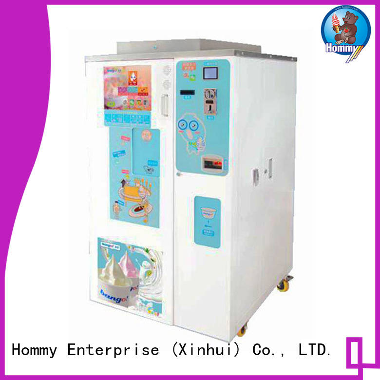 Hommy quality assurance vending machines for sale manufacturer for restaurants