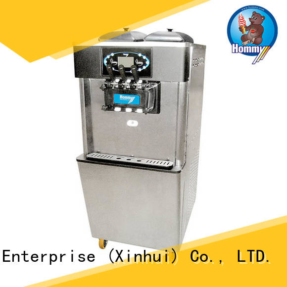 Hommy commercial commercial soft serve ice cream machine solution for snack bar