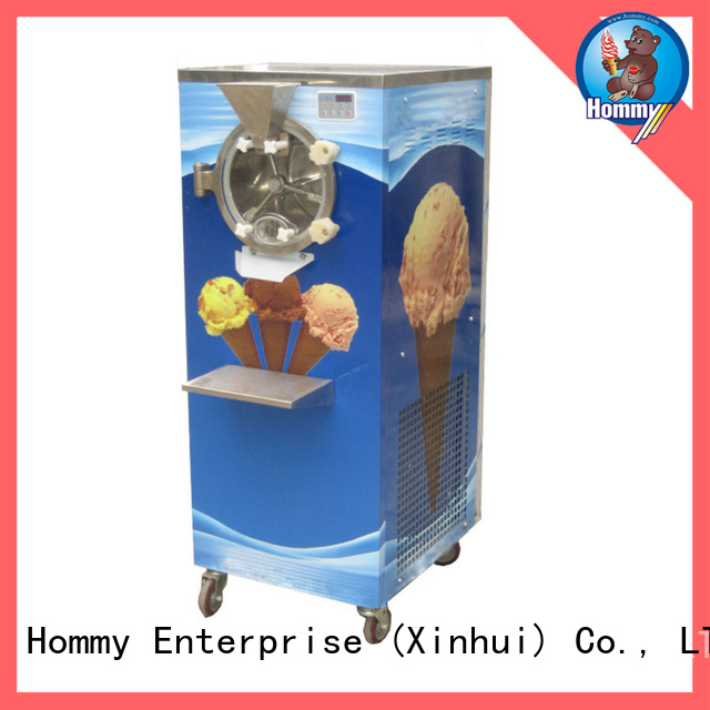 Hommy low noise ice cream dispenser for sale manufacturer for ice cream shop