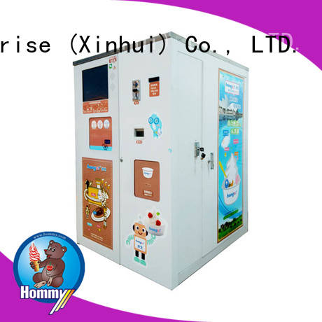 Hommy automatic vending machine ice cream supplier for beverage stores