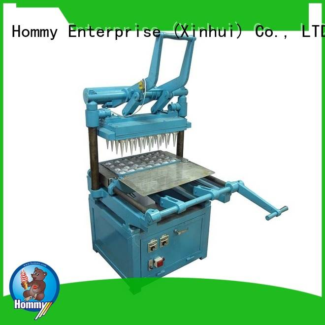 competitive price automatic ice cream cone machine trendy designs for smoothie shops Hommy