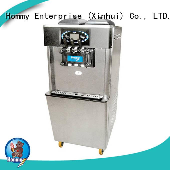 Hommy hm701 soft serve ice cream maker solution for supermarket