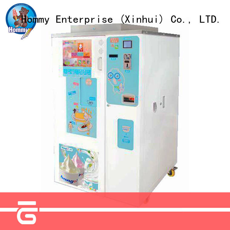 automatic ice cream vending machine for sale high-tech enterprise for beverage stores Hommy