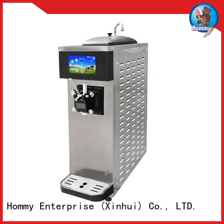 Hommy unreserved service soft serve machines supplier for snack bar
