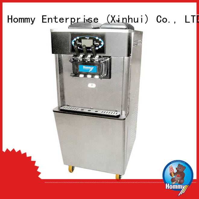 Hommy ice cream machine supplier supplier for supermarket