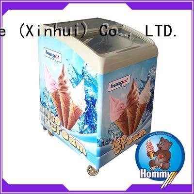 Hommy freezer gelato gelato freezer design for display ice cream