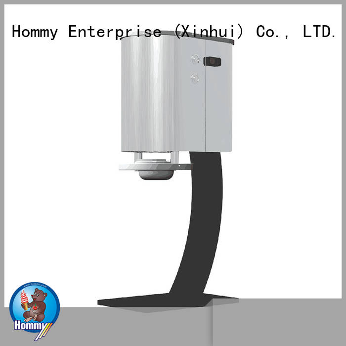 Hommy great efficient ice cream blender factory for coffee shops