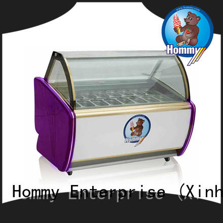 multifunctional ice cream display stainless steel manufacturer for supermarket