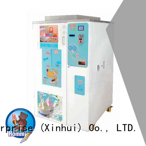 Hommy most popular ice cream vending machine high-tech enterprise for beverage stores