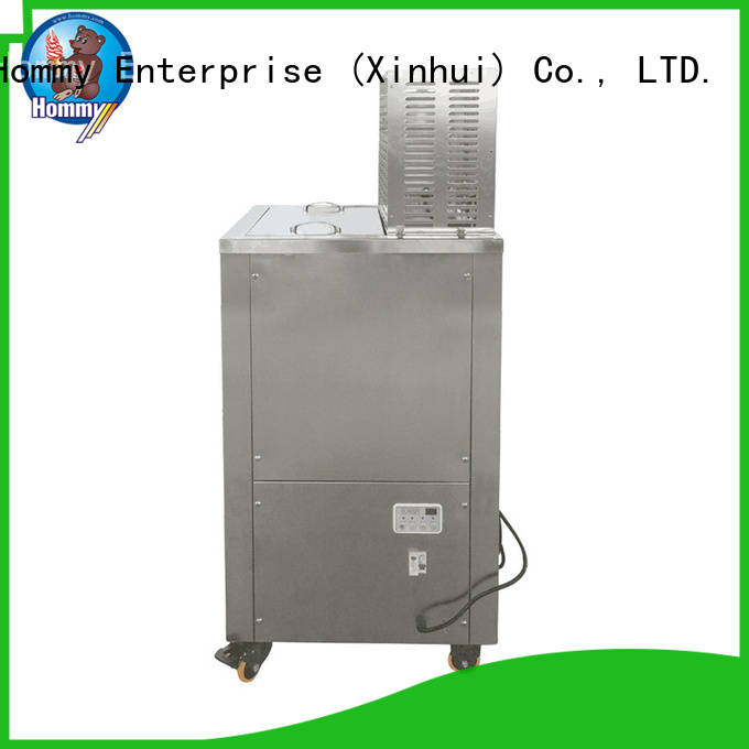 Hommy CE approved popsicle making machine supplier