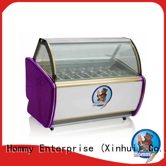 China ice cream display case storage refrigerator from China for display ice cream