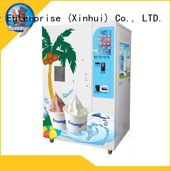 Hommy automatic vending machine ice cream high-tech enterprise for restaurants