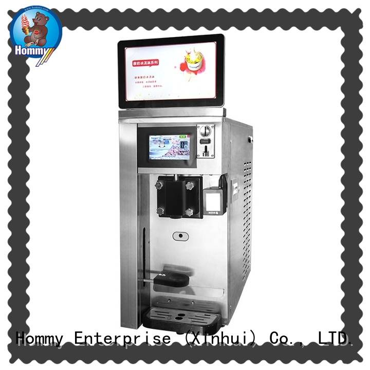 Hommy top cheap vending machine manufacturer for hotels