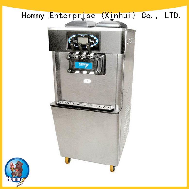 2+1 falvor Soft Serve Freezer&soft ice cream machine