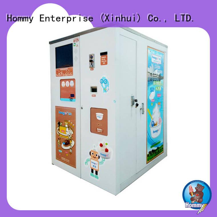 Hommy unbeatable price ice cream vending machine supplier for restaurants