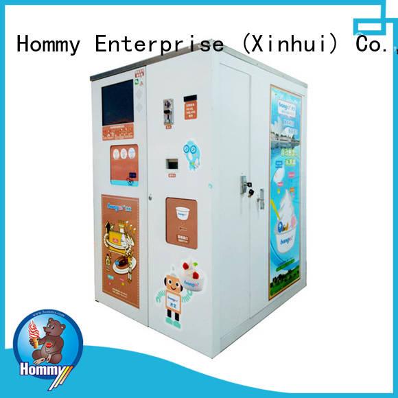 Hommy quality assurance cheap vending machine high-tech enterprise for beverage stores