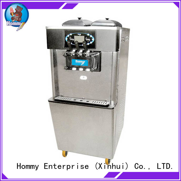 professional ice cream maker machine hm701 solution for supermarket