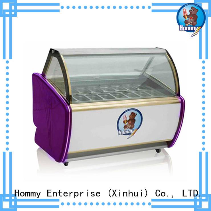 popsicle freezer freezer gelato wholesale for supermarket