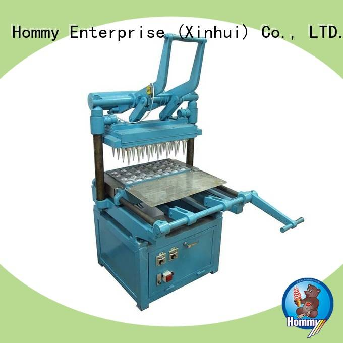 Hommy new generation ice cream cone making machine wholesale for ice cream shops