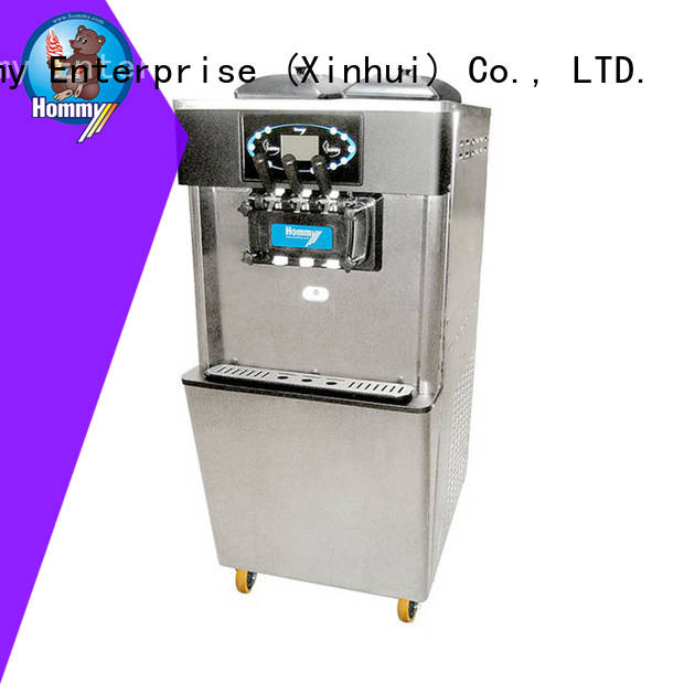 unreserved service soft ice cream maker wholesale for snack bar