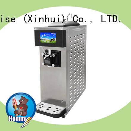 Hommy professional commercial ice cream machine solution for food shop