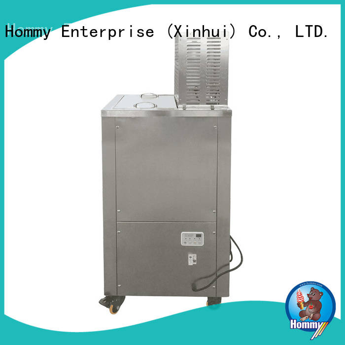 latest ice lolly machine wholesale CE approved for food–processing Hommy
