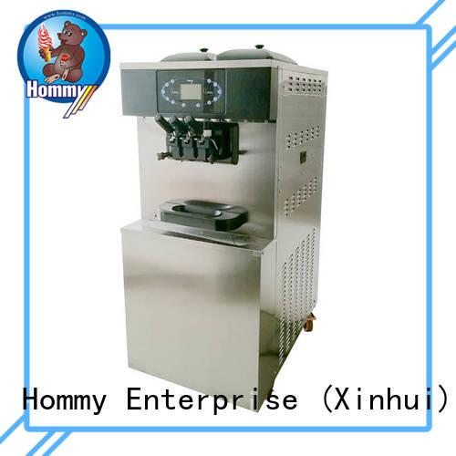 Hommy automatic frozen yogurt machine supplier trendy designs for ice cream shops