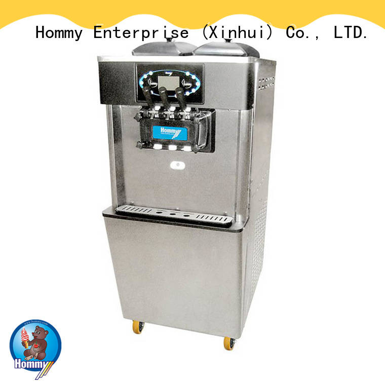 table top soft serve ice cream machine hm701 for snack bar Hommy