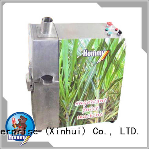 Hommy unrivaled quality sugarcane juice extractor manufacturers hygienic for supermarket