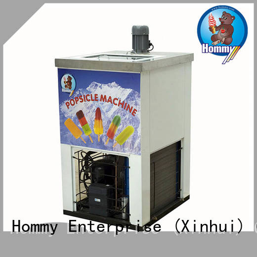 Hommy CE approved popsicle making machine wholesale for food–processing
