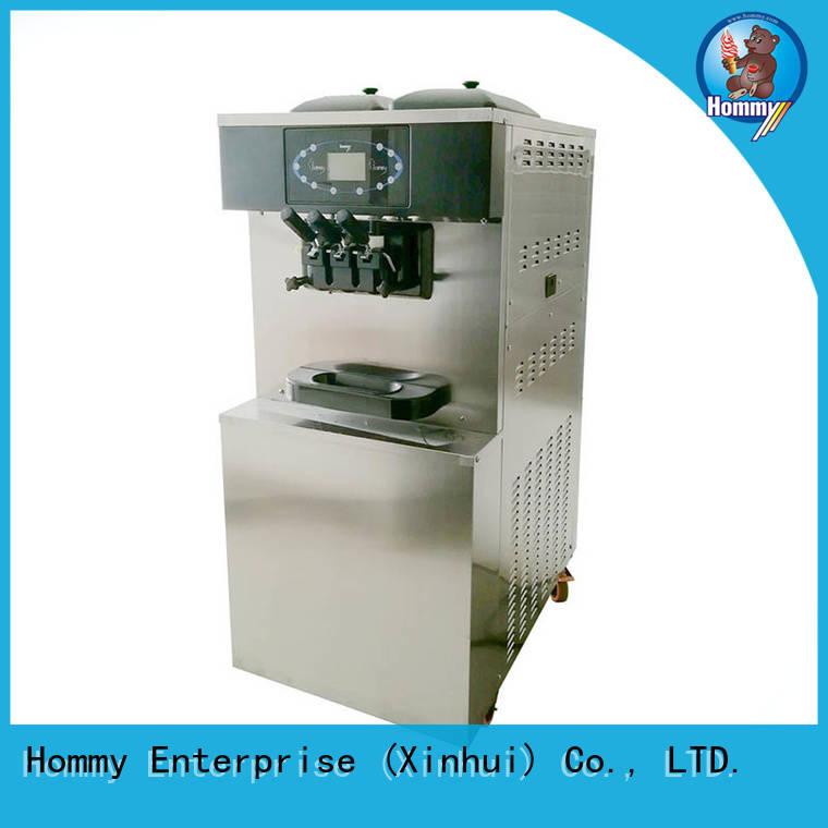 Hommy hm706 professional ice cream machine trendy designs for ice cream shops