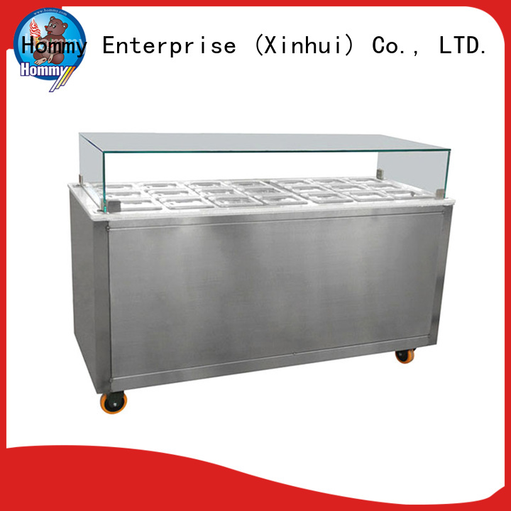 freezer gelato ice cream display counter factory directly sale for supermarket