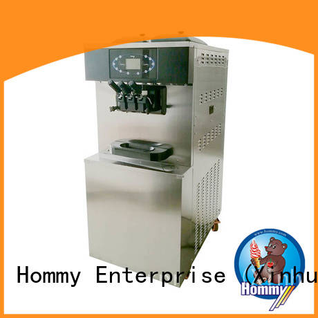 Hommy strict inspection commercial ice cream machine trendy designs for smoothie shops