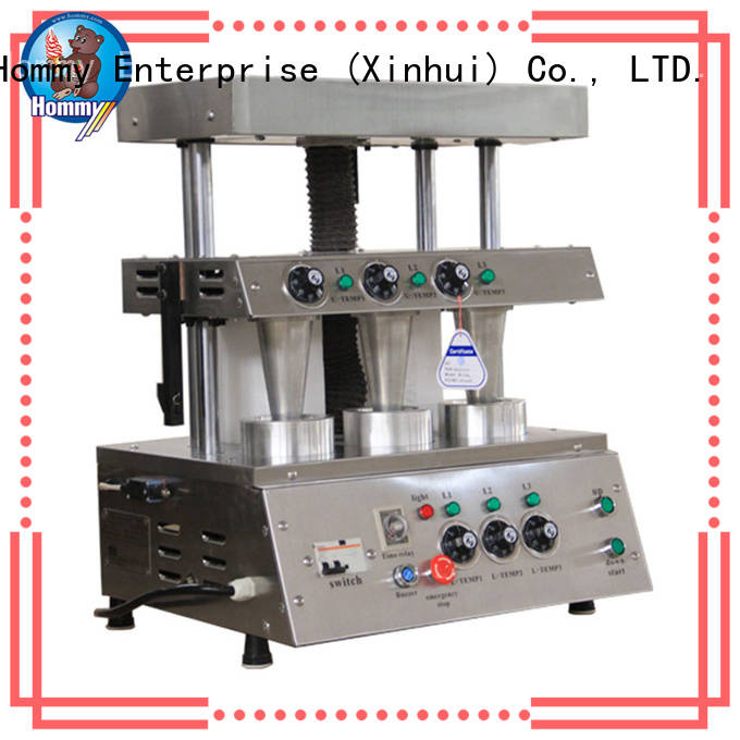 Hommy compact structure pizza cone oven supplier for store