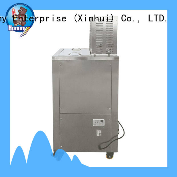 Hommy high quality popsicle making machine wholesale for convenient store