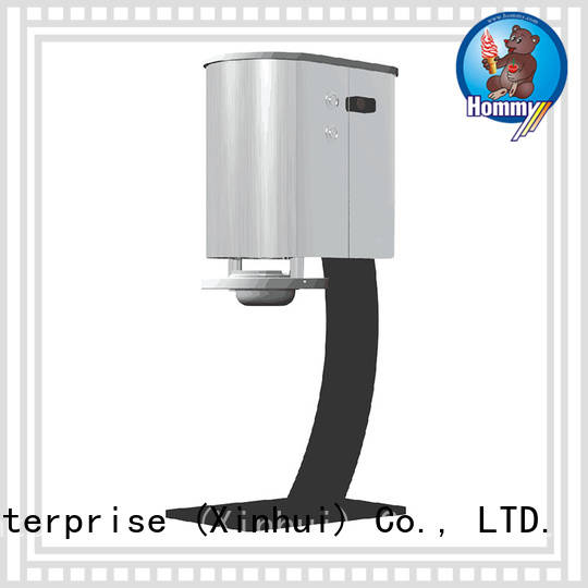 Hommy delicate appearance ice cream blender machine wholesale for coffee shops