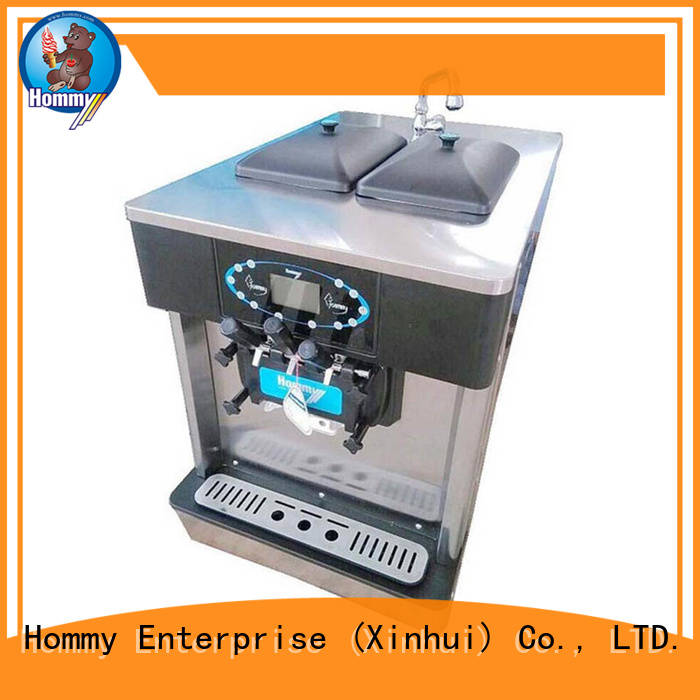 Hommy competitive price ice cream machine price wholesale for ice cream shops