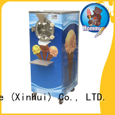 Hommy low noise professional ice cream machine wholesale for long life use