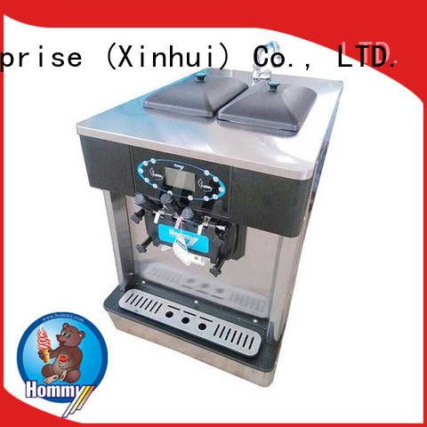 Hommy competitive price cheap ice cream machine supplier for restaurants