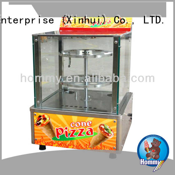 Hommy compact structure pizza cone maker wholesale for restaurants