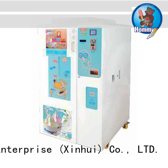 Hommy top vending machine manufacturers supplier for restaurants