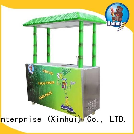 Hommy unreserved service sugarcane juice maker wholesale for food shop