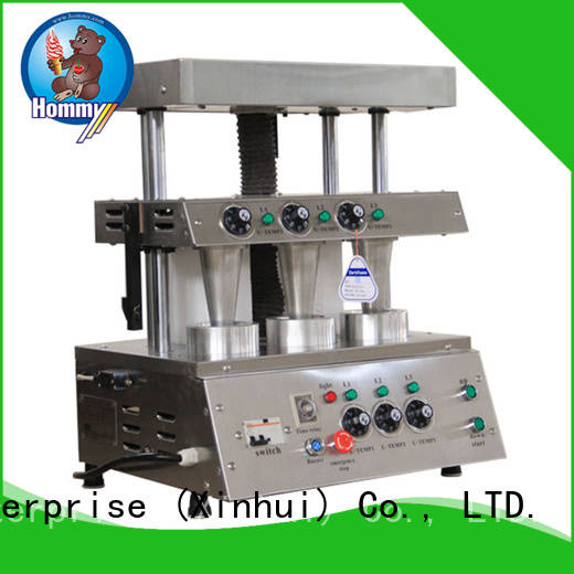 Hommy pizza cone ovenelectric with pre-cooling systemfor store