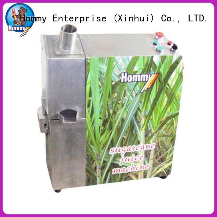 Hommy unrivaled quality sugarcane machine solution for food shop