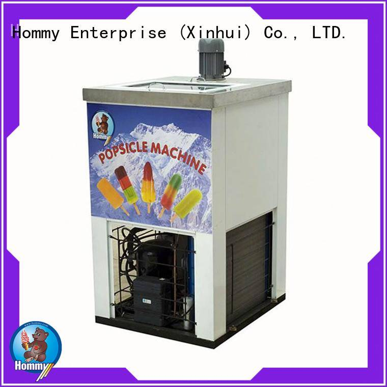 Hommy CE approved ice lolly machine wholesale for convenient store